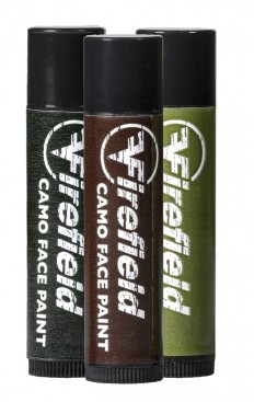 Firefield Woodland Camo Facepaint 3 Tube Pack