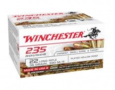 Winchester .22 LR SUPER-X,36GR, LHP COPPER PLATED (235 KOS)